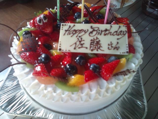白樺堂のケーキ