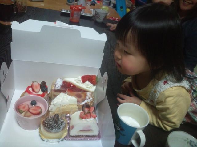 ケーキと姪っ子2