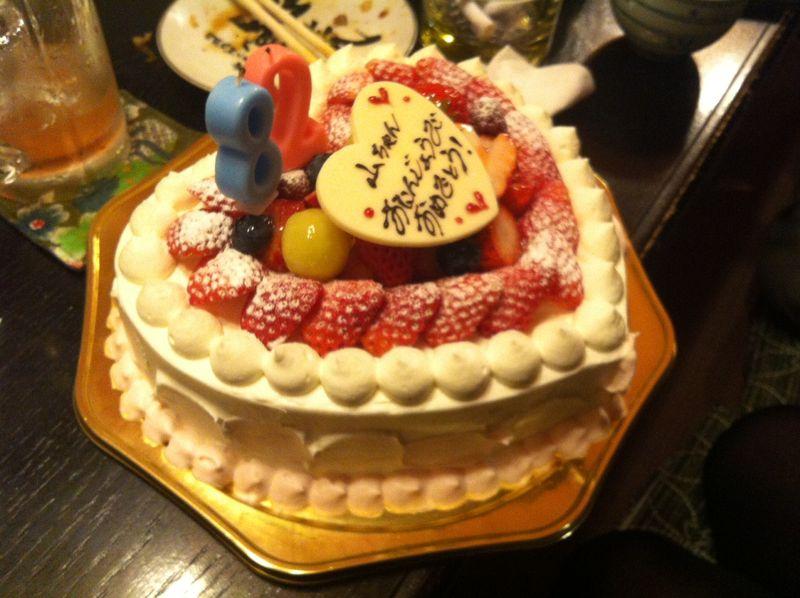 バースデーケーキ1