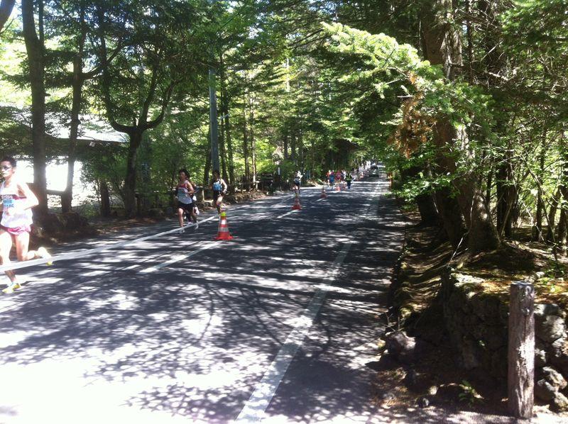 軽井沢ハーフマラソン2014
